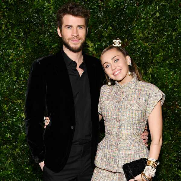 Liam Hemsworth, Miley Cyrus, Chanel, Pre-Oscar Awards Dinner